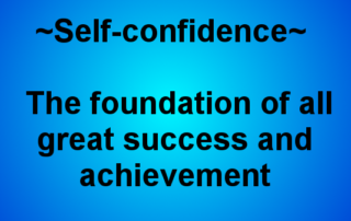 Self Confidence Tips and Thank you from Sabrina brraham